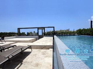 Ocean Views, off 5th Ave - Condo Infinito 105, Playa del Carmen