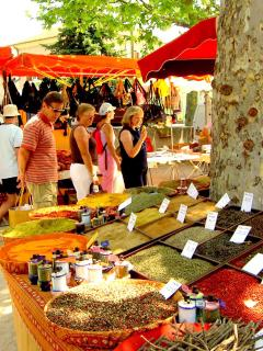 Every day Provencal markets are a feature of the local towns and villages.