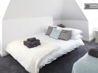 Double z bed in the loft room