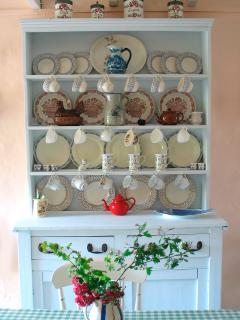 Cottage kitchen dresser