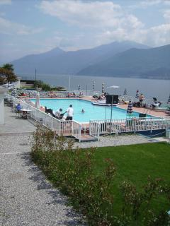 Spectacular pubblic swimming pool directly on lakeshores.' Lido di Cadenabbia.'