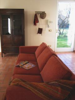Le Caiole Nocciolo / Hazelnut. The living room.