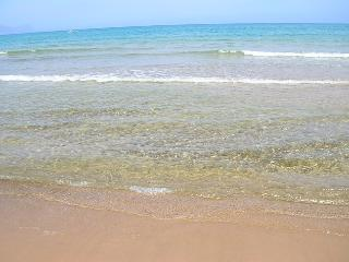 our beautiful sea with cristal-clear water and sandy beach