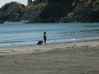 Pwllgwaelod beach