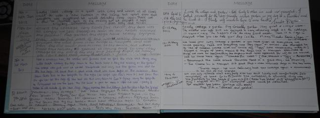 Some reviews from the guest book nb property was made over in Feb 2012