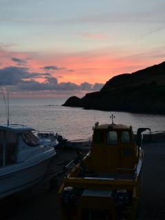 Pwllgwaelod Sunset