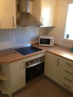 Spacious fully fitted kitchen, fully loaded with all the essential needed appliances.