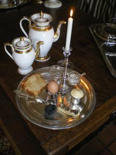 des truffes noires au petit dejeuner
