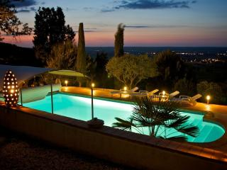 Villa - pool - vineyard view