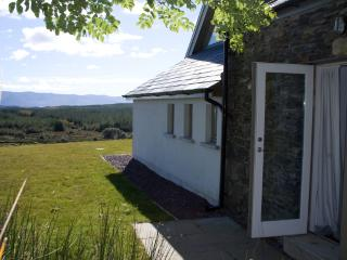 Wherever you are in the house you will catch sight of the mountains or the Kenmare Bay.