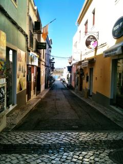 A street in Alvor-quiet in Winter!