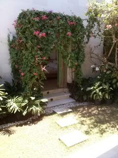 Pathway to Bedroom 1
