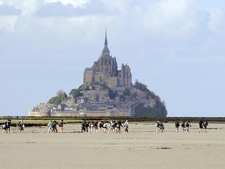 The amazing Mont Saint Michel, only 30' drive away