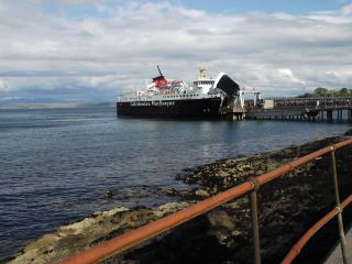 Your arrival at Craignure by Calmac ferry