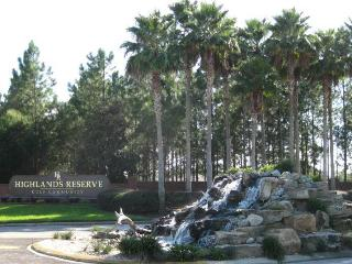 HIGHLANDS RESERVE GOLF CLUB COMMUNITY MAIN ENTERANCE