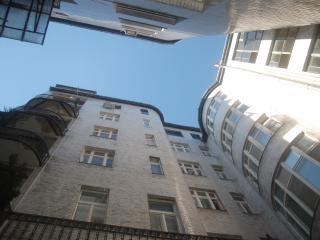Art Nouveau building from inside