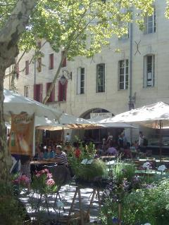 The Uzès market on Saturdays and Wednesdays is famous all over France.
