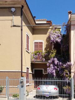 facade and front garden