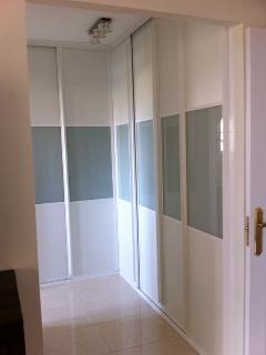 Fitted wardrobes in all bedrooms