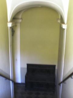 Monumental access stair