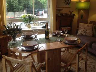 Entertain/relax with a nice bottle of wine and a meal