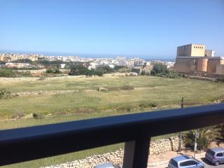 Enjoys superb views of Sliema, St Julians and Valletta from its terrace and living area bay window