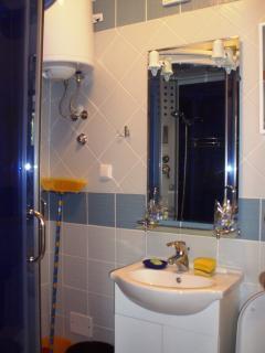 Newley decorated bathroom