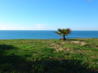 Vistas de la playa de santa maria del mar