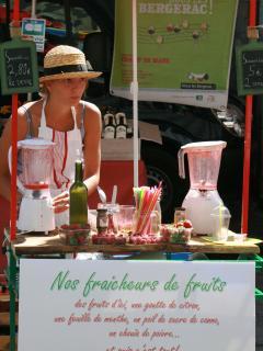 The market at Rouffignac