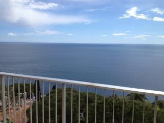 Idyllic sea view newly refurbished holiday apartment with pool acces, Nice