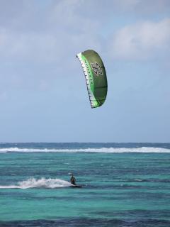 Kite surfing en hiver(Juillet /Aout)