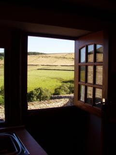 View from Trough Stable door