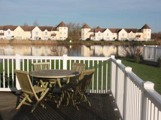 views of the lake from your terrace