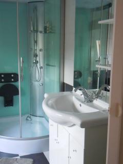 coin douche chambre mansardée