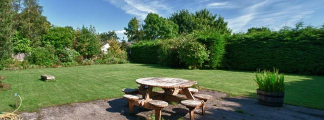 the picnic area.