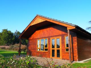 Glomach lodge at Lochletter Lodges