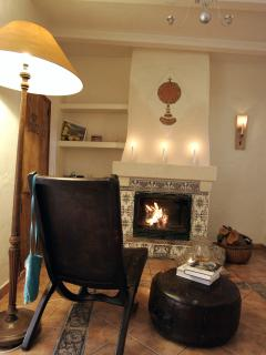 What about enjoying almond trees blossiming in January and then a cosy night by the chimney at home.