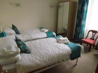 Superior Twin Room with TV and DVD player. En-suite luxury shower room.