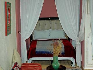 Lily White suite in Riad blue Berber