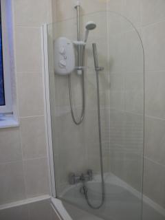 Mira shower over bath