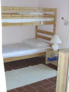 Upstairs bunk bedroom