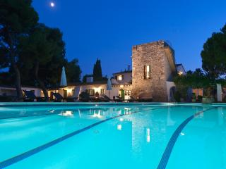 MASIA PAIRAL Private swimming pool 23x7m surrounded by garden, lounge and BBQ area