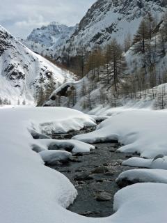 La Romanche en hiver