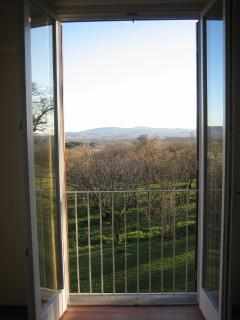 Le Caiole - Quercia / Oak. The view from the main bedroom.