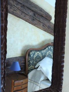 Chambres Soleil vue dans le miroir
