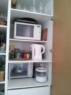 microwave, owen, water heater, toaster