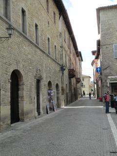 A street of Mercatello