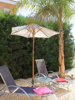 Secluded Area with Shade and Privacy
