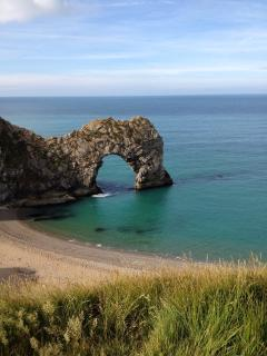 Durdle Door nearby