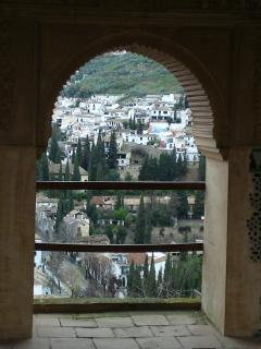 View from the Generalife (Summer Palace of the Alhambra)